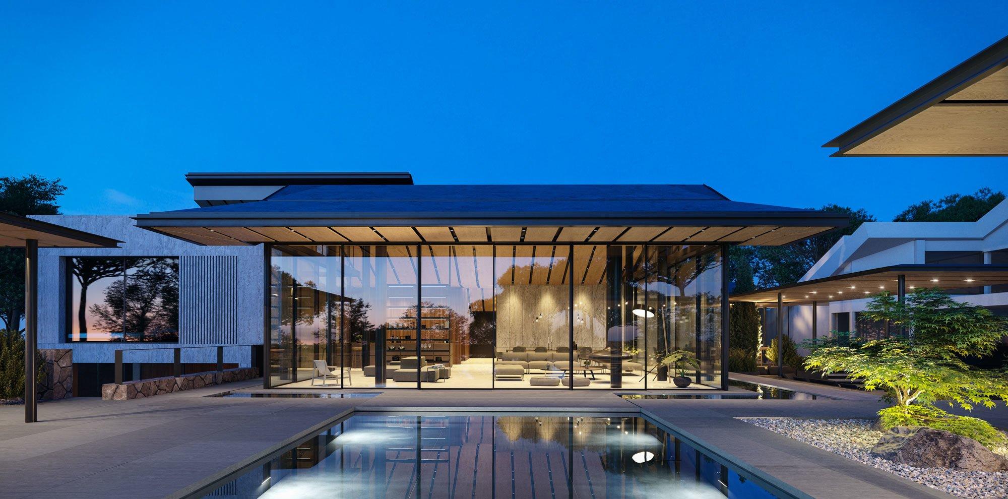 Haifa family house visualization, 500s studio